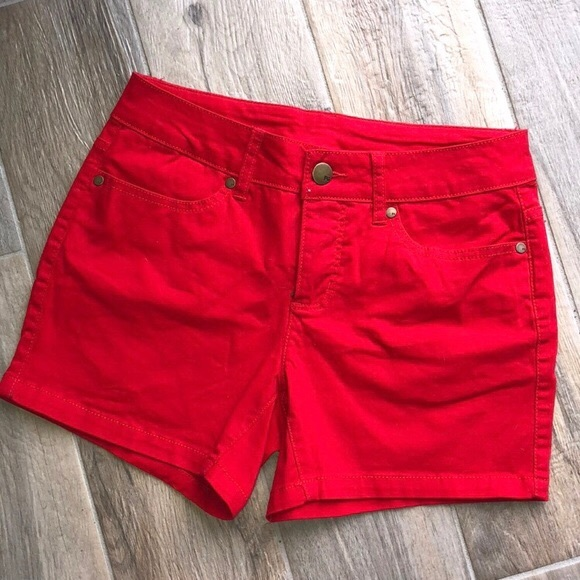 Faded Glory Pants - SHORT RED FADED GLORY SIZE 12